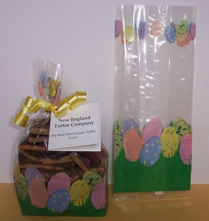 Easter toffee candy gift ideas this easter gift pail comes with a happy easter card porcelain eggs cello bag negle Gallery
